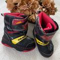 Disney Shoes | Boys Snow Boots | Color: Black/Red | Size: M 78