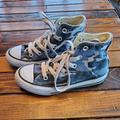 Converse Shoes | Camo Converse High Top Shoes | Color: Blue | Size: 11b