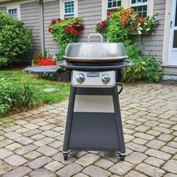 Cuisinart 2 - Burner Free Standing Liquid Propane 3000 BTU Gas Grill Steel in Gray, Size 31.75 H x 40.13 W x 43.63 D in | Wayfair CGG-888