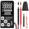 """Aimometer EBTN LCD Multimeter 3.5"""" Screen 3-Line Display 9999 Counts True RMS Auto-Ranging Digital Voltmeter Continuity Ohm Hz Diode Cap Volt Tester with Analog Bargraph"""