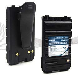 (2-Pack) 7.2V 1800mAh BP-264 Ni-MH Battery for ICOM Radio IC-T70A IC-T70E IC-V80 IC-U80 IC-F3001 IC-F3101D IC-F3103D IC-F4101D F4001 F3003 F4003 with Belt Clip