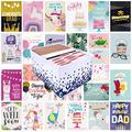 100 All Occasion Greeting Cards- 100 Eye Catching Designs with Greeting Card Organizer Box- Friendship Cards, Anniversary Cards, BFF Cards, Thanks Cards, Wedding Cards & More- 4 x 6 with 100 Envelopes