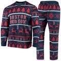 """Boston Red Sox Navy Wordmark Pajama Set"""