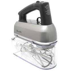 Breville BHM800SIL 9 Speed Hand Mixer w/ (2) Scraper Beaters, Silver