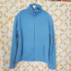 Adidas Tops   Adidas Light Blue Jacket Size Medium   Color: Blue   Size: M