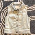 Anthropologie Jackets & Coats | Anthropologie Pilcro Sleeveless Denim Jacket | Color: Blue | Size: S