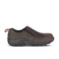 Merrell Men's Jungle Moc Leather Comp Toe SD+ Work Shoe, Size: 9, Espresso