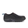 Merrell Men's Jungle Moc Leather Comp Toe SD+ Work Shoe, Size: 9, Black