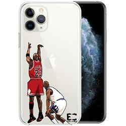 iPhone 6/6S iPhone 7/iPhone 8 Case Epic Cases Ultra Slim Crystal Clear Basketball Series Soft Transparent TPU Case Cover Apple (iPhone 6/6s) (iPhone 7) (iPhone 8) - MJ (iPhone 6/7/8)