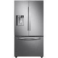 Samsung RF23R6301 36 Inch Wide 22.5 Cu. Ft. Energy Star Rated French Door Refrigerator Fingerprint