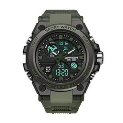 Men's Watches Digital Watch Men Military Watch Tactical Watch Mens Watches Waterproof Sport Watches for Men (Army Green)