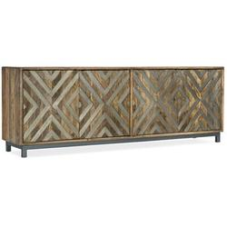 """Hooker Furniture TV Stand for TVs up to 88"""" Wood in Brown, Size 30.0 H in   Wayfair 5649-55486-MWD"""