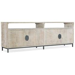 """Hooker Furniture TV Stand for TVs up to 88""""Wood/Metal in Brown/Gray, Size 30.0 H x 86.0 W x 18.0 D in 