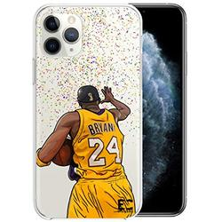 iPhone 6/6S iPhone 7/iPhone 8 Case Epic Cases Ultra Slim Crystal Clear Basketball Series Soft Transparent TPU Case Cover Apple (iPhone 6/6s) (iPhone 7) (iPhone 8) - Kobe (iPhone 6/7/8)