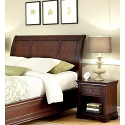 Lafayette King/California King Sleigh Headboard and Night Stand - Homestyles Furniture 5537-6015