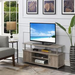 Designs2Go Monterey TV Stand in Sandstone - Convenience Concepts 151401SND