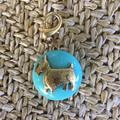 Anthropologie Jewelry | *Anthropologie The Collector'S Charm Scottie Dog | Color: Blue/Gold | Size: Os