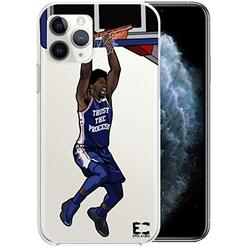 iPhone 6/6S iPhone 7/iPhone 8 Case Epic Cases Ultra Slim Crystal Clear Basketball Series Soft Transparent TPU Case Cover Apple (iPhone 6/6s) (iPhone 7) (iPhone 8) - Embiid (iPhone 6/7/8)