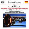 Iturralde:Complete Music For Saxophone & Piano [Juan Manuel Jim??nez; Estaba Oca??a; Claude Delangle] [NAXOS: 8573429] by Juan Manuel Jim??nez