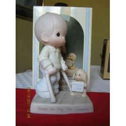 Precious Moments Blessed Are They That Overcome Easter Seals 1988 Limited Edition #115479 by Precious Moments
