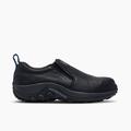 Merrell Men's Jungle Moc Leather Comp Toe Work Shoe Wide Width, Size: 8, Black