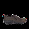 Merrell Men's Jungle Moc Leather Comp Toe Work Shoe Wide Width, Size: 9.5, Espresso
