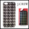 J. Crew Accessories | J.Crew Iphone 66s Case Black Houndstooth | Color: Black/Red/White | Size: Iphone 66s