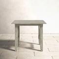 Birch Lane™ Brunswick Teak Side TableWood in Gray, Size 18.25 H x 22.0 W x 22.0 D in   Wayfair 507CE7F7AE804D89967487809E2D50F7