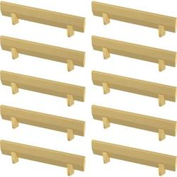 """Franklin Brass Gathered Blade Kitchen Cabinet or Furniture Drawer 3"""" Center Bar Pull Multipack Metal, Size 4.4 H x 0.51 W in 