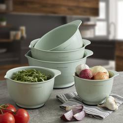KitchenAid 5 Piece Plastic Mixing Bowl SetPlastic in Green/Blue | Wayfair KE178OSPIA