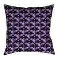 Latitude Run® Avicia Square Throw Pillow Cover & InsertMetal in Indigo, Size 40.0 W x 14.0 D in   Wayfair 71870C2293304FA98FE75588F9BB3B71