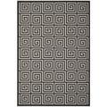 World Menagerie Headrick Gray Indoor/Outdoor Area Rug Polypropylene in Brown/Gray, Size 90.0 H x 63.0 W x 0.19 D in | Wayfair