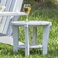 Breakwater Bay Dina Side Table Wood in Green, Size 17.0 H x 19.5 W x 19.5 D in | Wayfair JB40-025W