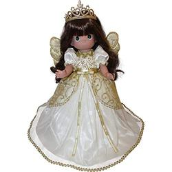 """Precious Moments, The Doll Maker Precious Moments 15"""" Praise to The Newborn King Christmas Tree Topper"""