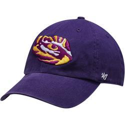 """Men's '47 Purple LSU Tigers Team Clean Up Adjustable Hat"""