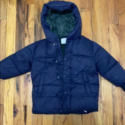 Zara Jackets & Coats | Boys Puffer Jacket | Color: Blue | Size: 3-4