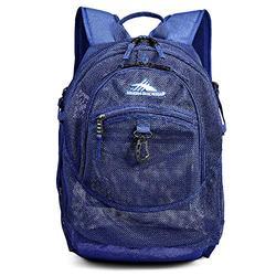 High Sierra Airhead Mesh Backpack, True Navy, 19.5 x 13 x 7-Inch