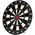 EODO Safety Dart Board Set for Kids, 16 Inch Rubber Dart Board with 6 Soft Tip Dart Great Game for Office and Family Leisure Sport Quality