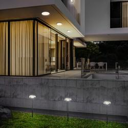 Eurofase Low Voltage Hardwired LED Pathway Light Metal in Black, Size 15.75 H x 4.5 W x 4.5 D in   Wayfair 35894-018