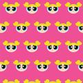 GRAPHICS & MORE Powerpuff Girls Bubbles Head Premium Roll Gift Wrap Wrapping Paper
