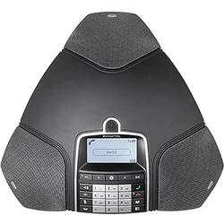 Konftel 300Wx Wireless Conference Phone w/Analog DECT Base Station + Sandisk 16GB Card to Record Calls + Belkin PowerStrip and More - Conference Room Bundle