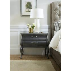 Hooker Furniture Woodlands 2 Drawer Nightstand Wood in Black/Brown, Size 30.0 H x 34.5 W x 20.25 D in | Wayfair 5820-90017-98