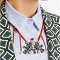 Gucci Jewelry | Authentic Gucci Necklace | Color: Blue/Red | Size: Os