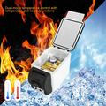 Car Mini Fridge, 12V 6L Compact Car Refrigerator Electric Drink Cooler and Warmer For Traveling Camping