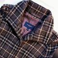 Burberry Jackets & Coats | Burberry Wool Gray Plaid Coat ~ A Winter Fave! | Color: Gray | Size: 6