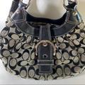 Coach Bags   Coach Soho Hobo Signature Lynn Shoulder Bag F15514   Color: Black   Size: Os