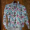 Columbia Jackets & Coats | Columbia Youth Floral Zip Up 1012 Jacket Girls | Color: Pink/White | Size: 12g