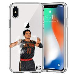 iPhone 6/6S iPhone 7/iPhone 8 Case Epic Cases Ultra Slim Crystal Clear Basketball Series Soft Transparent TPU Case Cover Apple (iPhone 6/6s) (iPhone 7) (iPhone 8) - Ice Trae (iPhone 6/7/8)