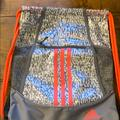 Adidas Bags | Adidas Drawstring Backpack | Color: Gray/White | Size: Os