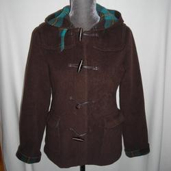 Lilly Pulitzer Jackets & Coats   Brown Wool Lilly Pulitzer Toggle Jacket Size Xs   Color: Brown/Green   Size: Xs